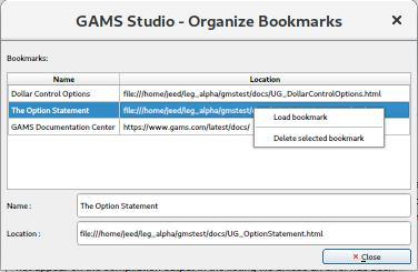 GAMS Studio